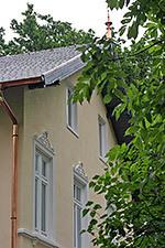 Man muss sich die Wohnblocks hinter der schönen Heise Villa einfach mal wegdenken …