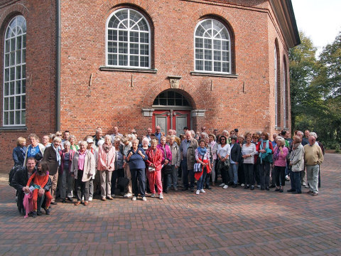 Start an der Niendorfer Kirche am Markt