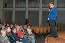 Siegbert Rubsch stellte das Forum Kollau vor