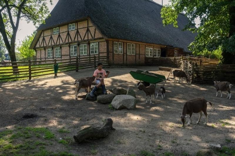 Leben wie früher vor 100 Jahren - ein Besuch im Museumsdorf Volksdorf veranschaulicht das dörfliche Leben.         Foto: Wolfgang Hertwig