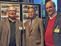 Rainer Funke, Volker Bulla, Harald Elsner freuen sich über den Erfolg der Veranstaltung