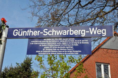 Seit vier Monaten gibt es in Burgwedel den Günther-Schwarberg-Weg