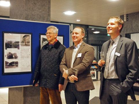 Beste Stimmung: Klaus Tornier, Herwyn Ehlers, Axel Thiemann | Foto I. Schmidt
