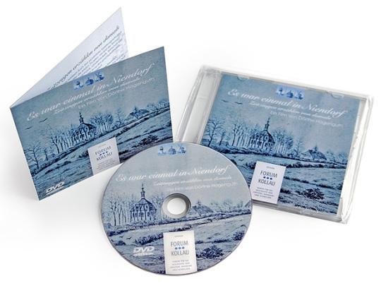 DVD des Dokumentarfilms - Es war einmal in Niendorf
