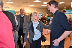 Marc Schemmel, MdBü, ist dem NTSV sehr lange verbunden, genau wie Astrid Schulze, die als Redakteurin des Niendorfer Wochenblatt den Verein über lange Jahre begleitete