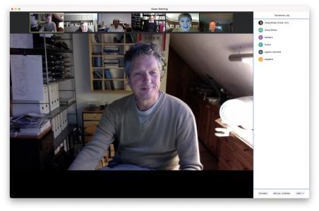 Unsere erstes Zoom-Meeting am 15. Dezember war die Teststrecke für weitere virtuelle Vorstandssitzungen