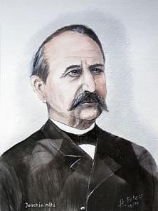 Joachim Mähl, geboren in Niendorf, Lehrer und in seiner Zeit populärer Plattdeutsch-Literat, lebte in Reinfeld und Segeberg. Seine Eltern sind auf dem Alten Niendorfer Friedhof begraben